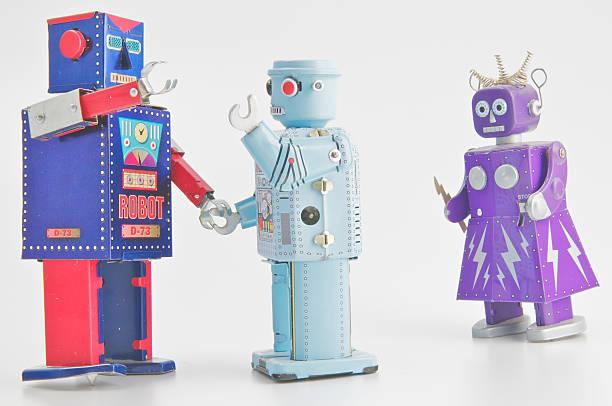 Trio di Robot - foto stock