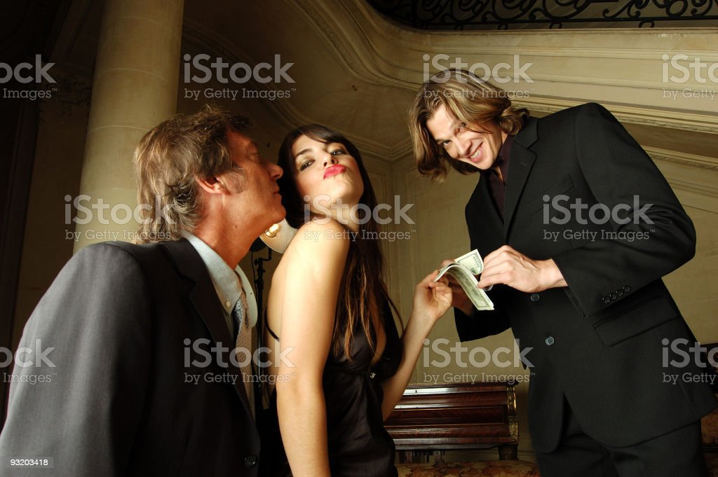 Trio royalty-free stock photo