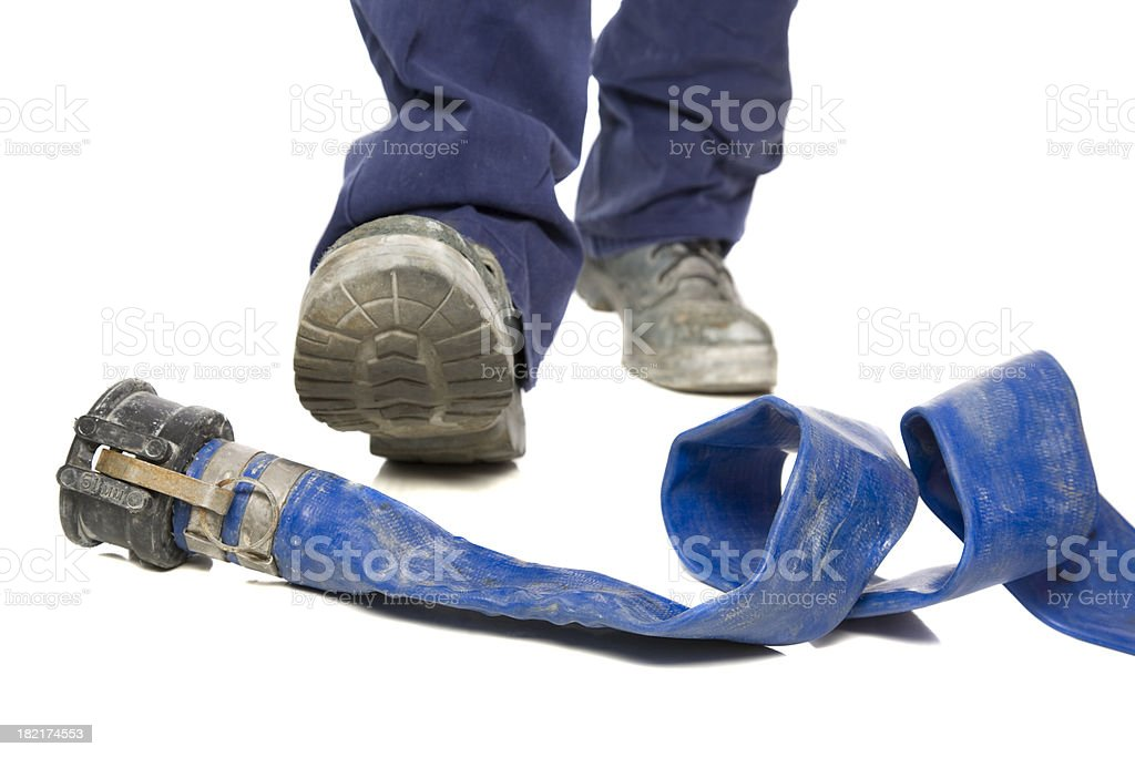Trip Hazard royalty-free stock photo