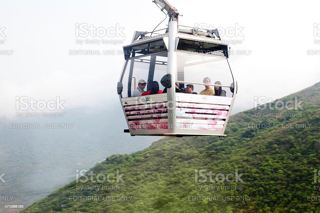 Trip to Lantau Island in Hong Kong royalty-free stock photo