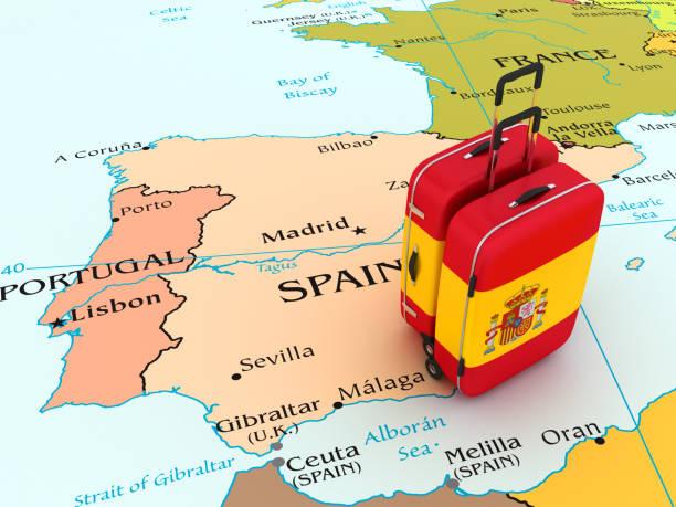 viaje a españa - andalusian flag fotografías e imágenes de stock