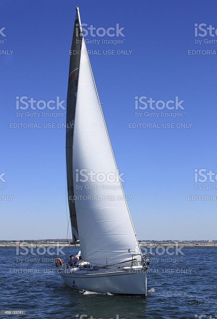 Trip With A Sail Boat Stock Photo - Download Image Now - iStock