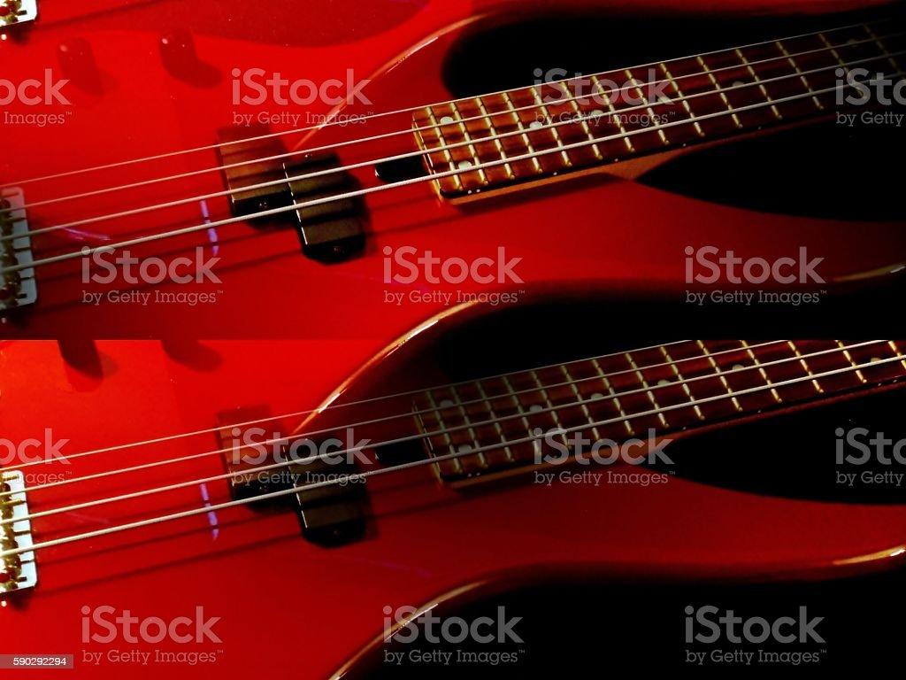 Triple bass Стоковые фото Стоковая фотография