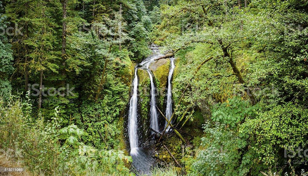 Triple Falls, Oregon -XXXL stock photo