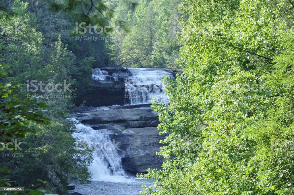 Triple Falls stock photo