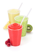 """""""It's hot out somewhere. Have a smoothie! The fruity flavors are raspberry, kiwi and lemon."""""""
