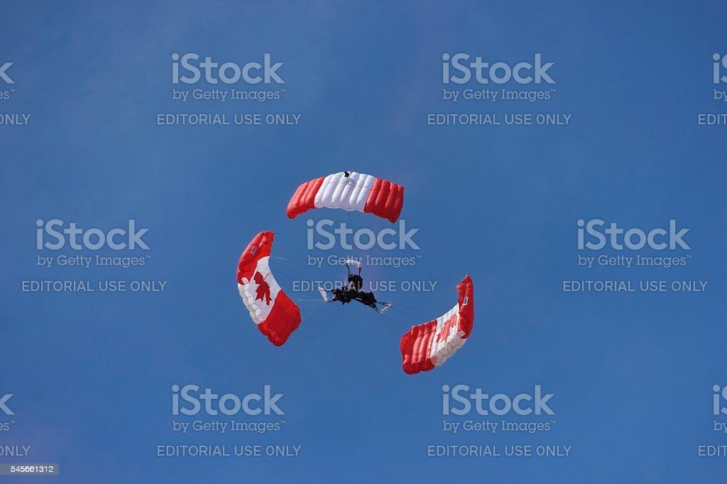 Triple Jumper stock photo