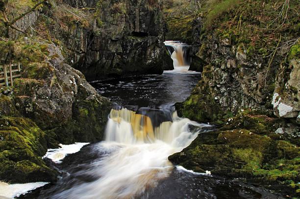 Triple Spout Waterfall stock photo