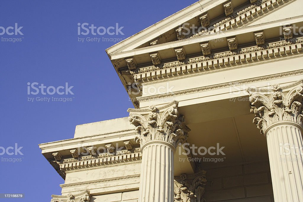 triple towers royalty-free stock photo
