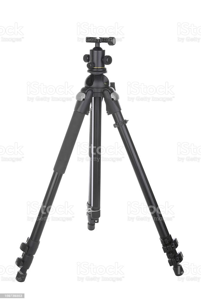Tripod royalty-free stock photo