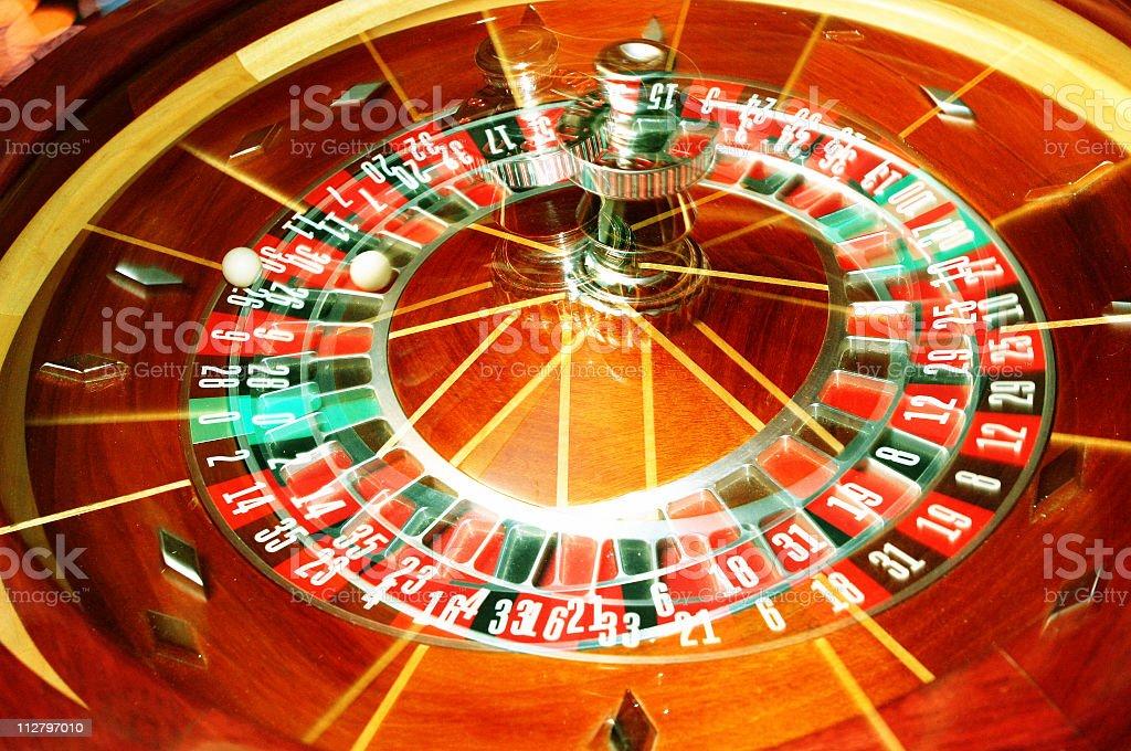 Trippy Roulette Wheel royalty-free stock photo