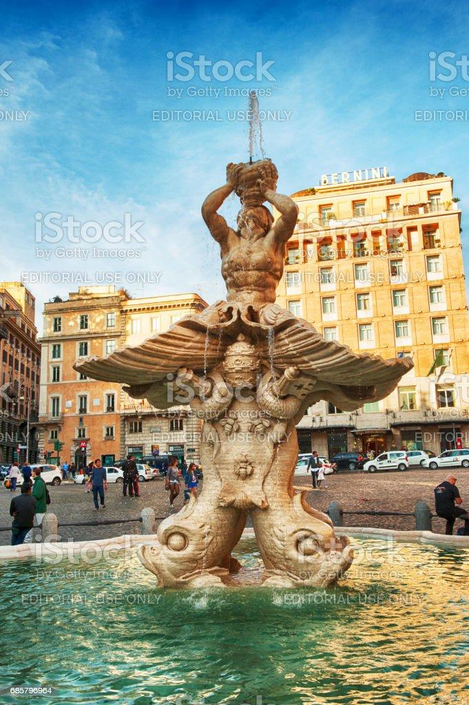 Triton-Brunnen in Rom – Foto