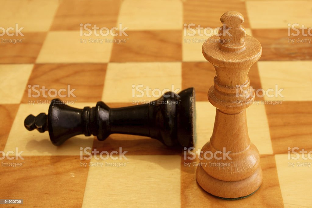 triumph and defeat royalty-free stock photo