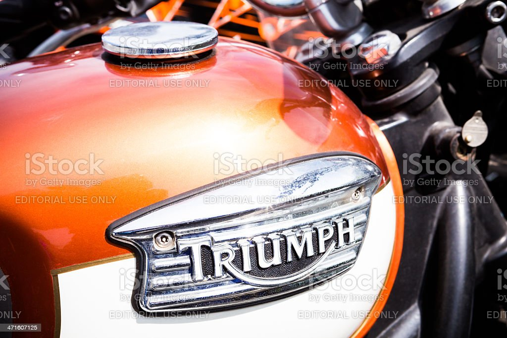 Triumph Detail royalty-free stock photo