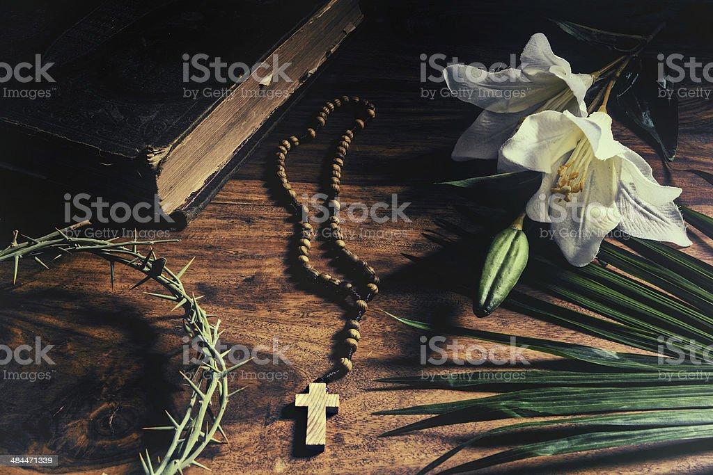 Triumph - Passion - Crucifixion - Resurrection stock photo