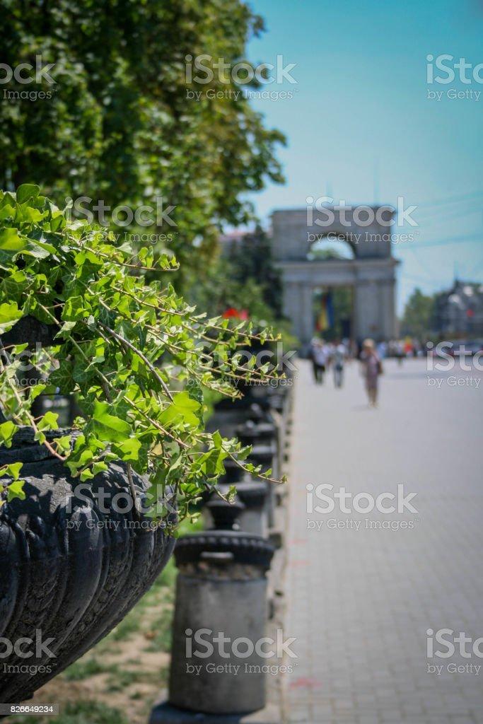 Triumphal Arch stock photo