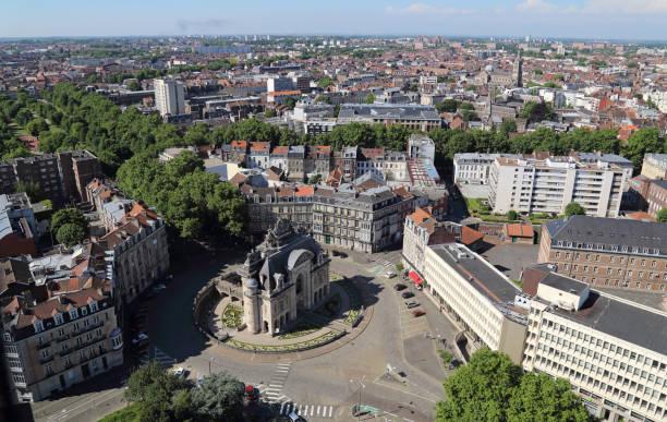 Triumphbogen Porte de Paris in Lille, Frankreich – Foto