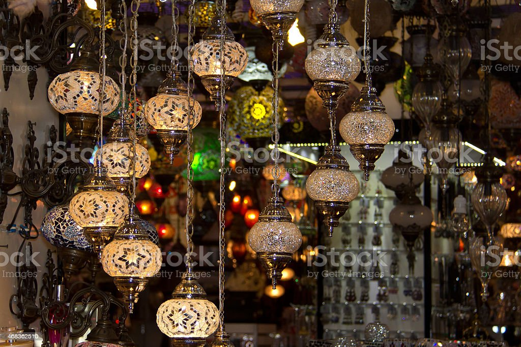 Türkische Laternen royalty-free stock photo