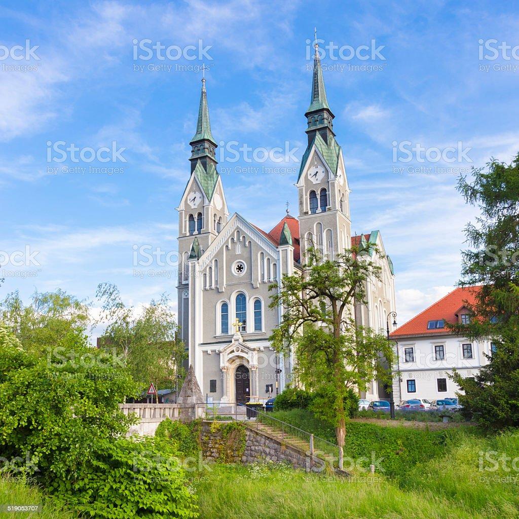 Trnovo Kirche in Ljubljana (Slowenien) – Foto
