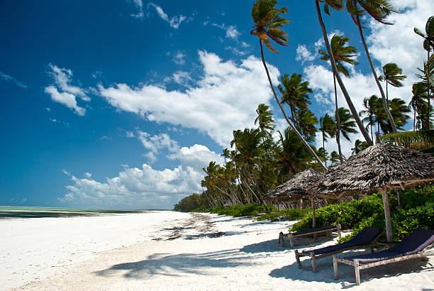 Trobical Strand von Sansibar – Foto