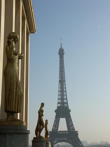 istock Trocadero and Eiffel tower in Paris 139861394