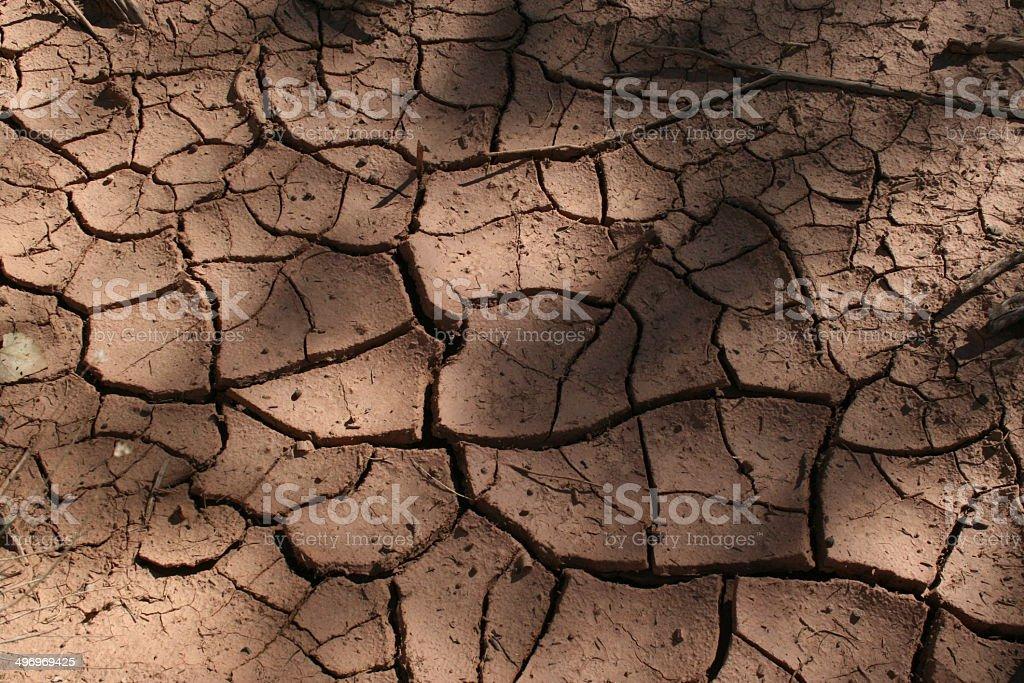 Trockener Boden Lizenzfreies stock-foto