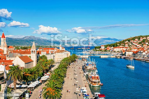 istock Trogir old town on a sunny day 614434658