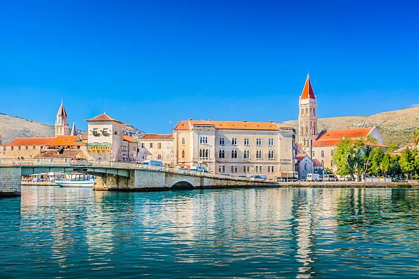 Trogir town coastal view. – Foto