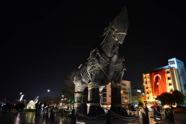 Troia-Pferd – Foto
