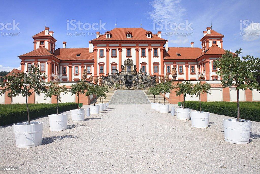 Castello di Troja foto stock royalty-free