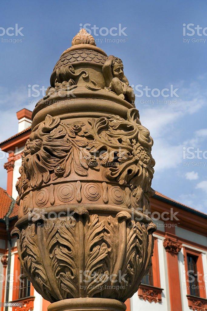 Troja Palace, Czech Republic royalty-free stock photo