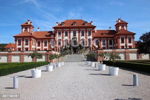 istock Troja Palace in Prague 531163181