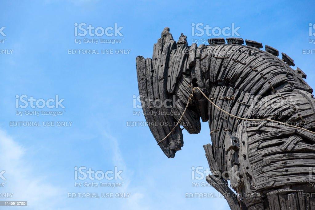 Trojan Horse Statue Stock Photo Download Image Now Istock