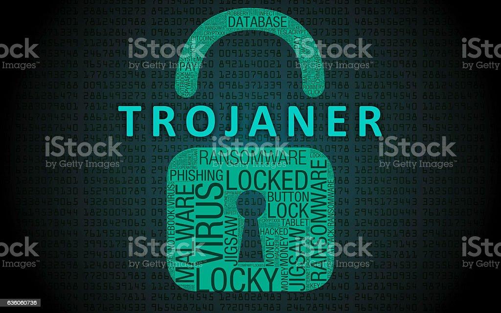 Trojaner stock photo