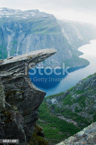 Trolltunga is a famouse landmark in Norway