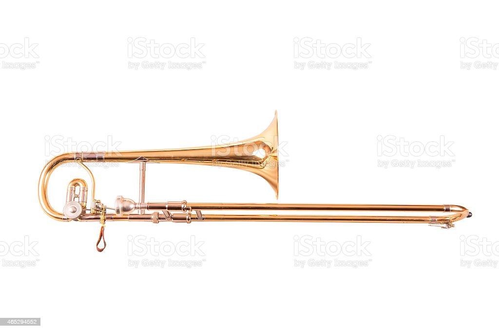 Trombone alto stock photo