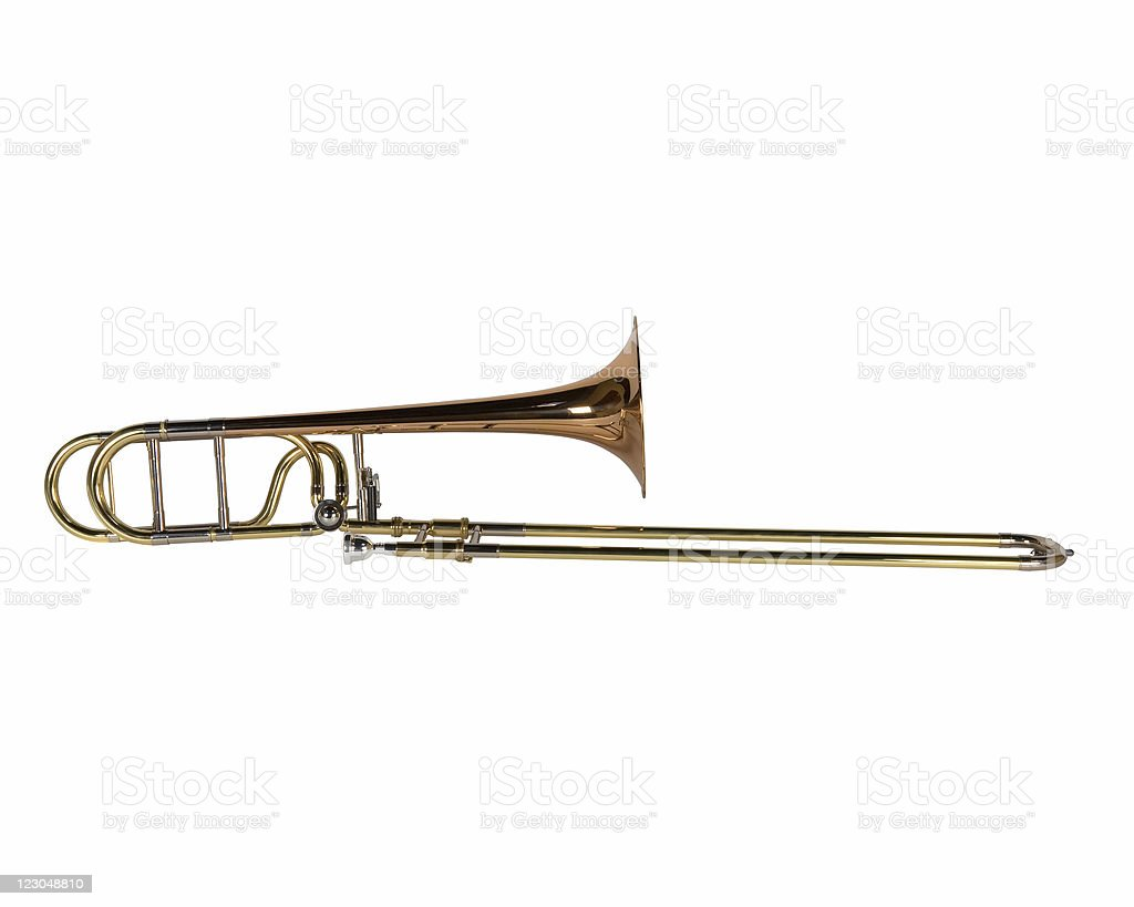 Trombone royalty-free stock photo