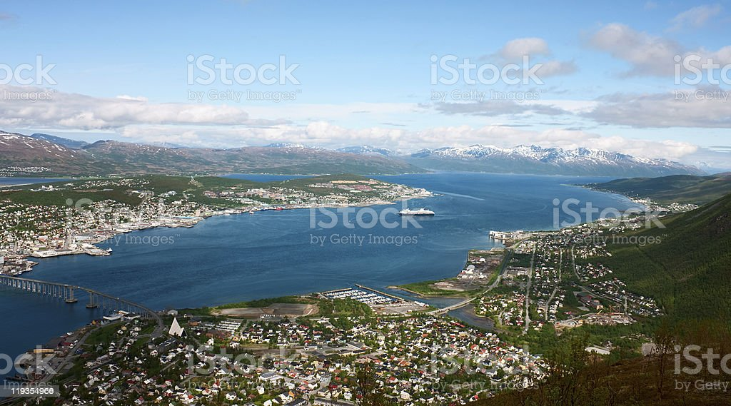 Tromso royalty-free stock photo