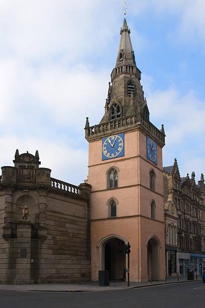 Tron Steeple, Glasgow stock photo