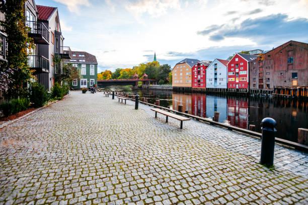 Trondheim, Norway stock photo