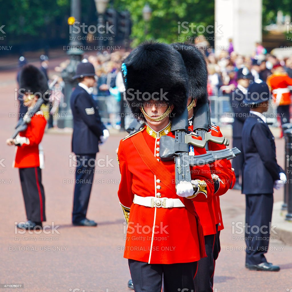 Trooping the Colour Ceremony, Westminster, London. royalty-free stock photo