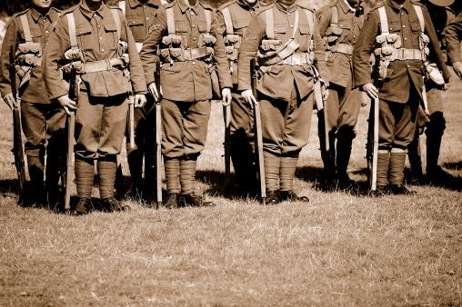 Troops.