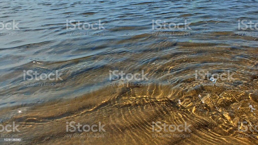 Tropfen Im Wattwasser - Lizenzfrei Deutschland Stock-Foto