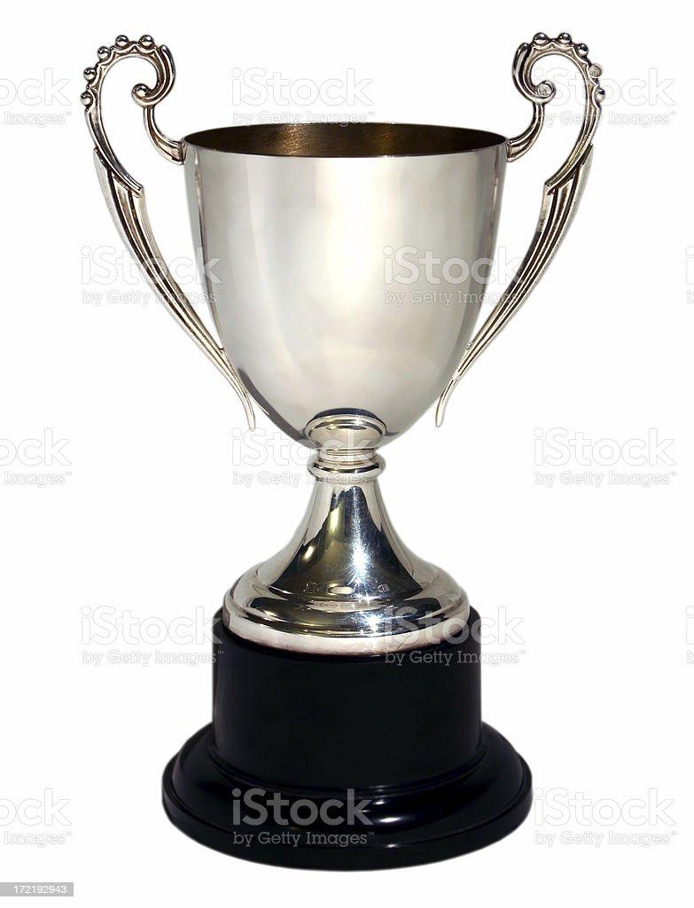 trophy 3 stock photo