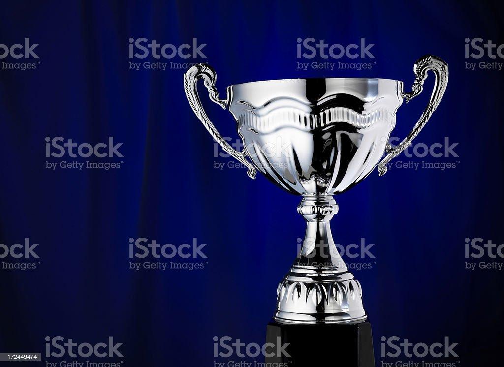 Trophy Award ceremony stock photo