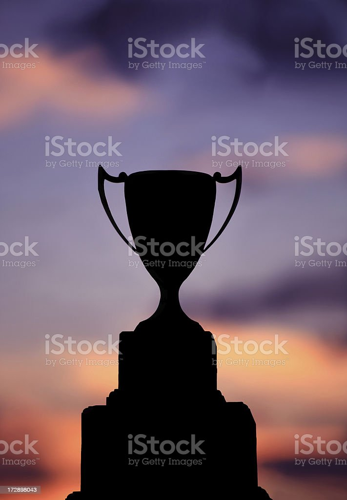 Trophy royalty-free stock photo