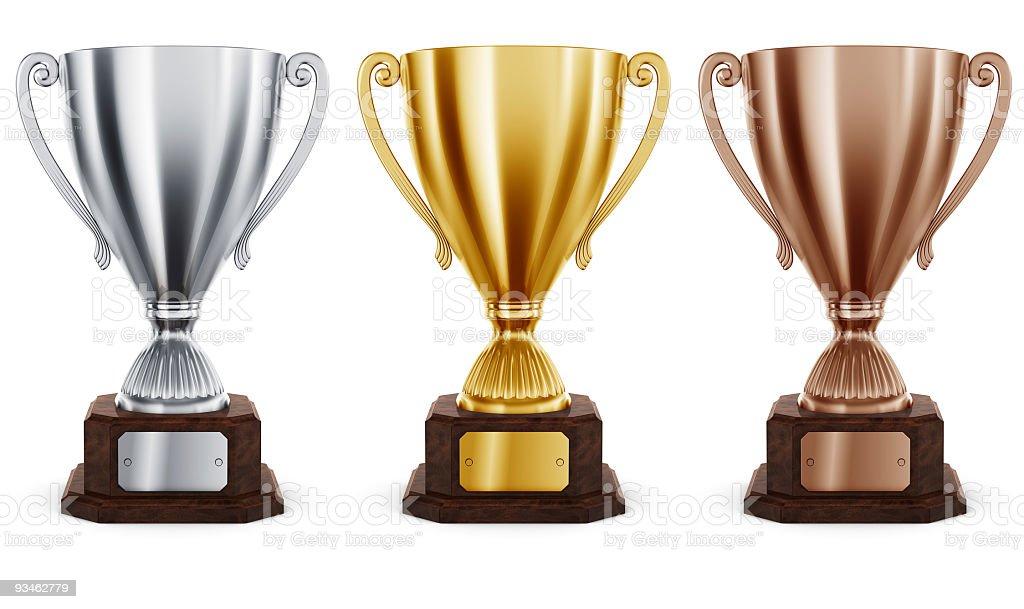 Trophys royalty-free stock photo