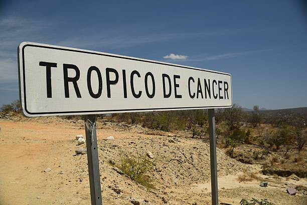 Tropic of Cancer stock photo