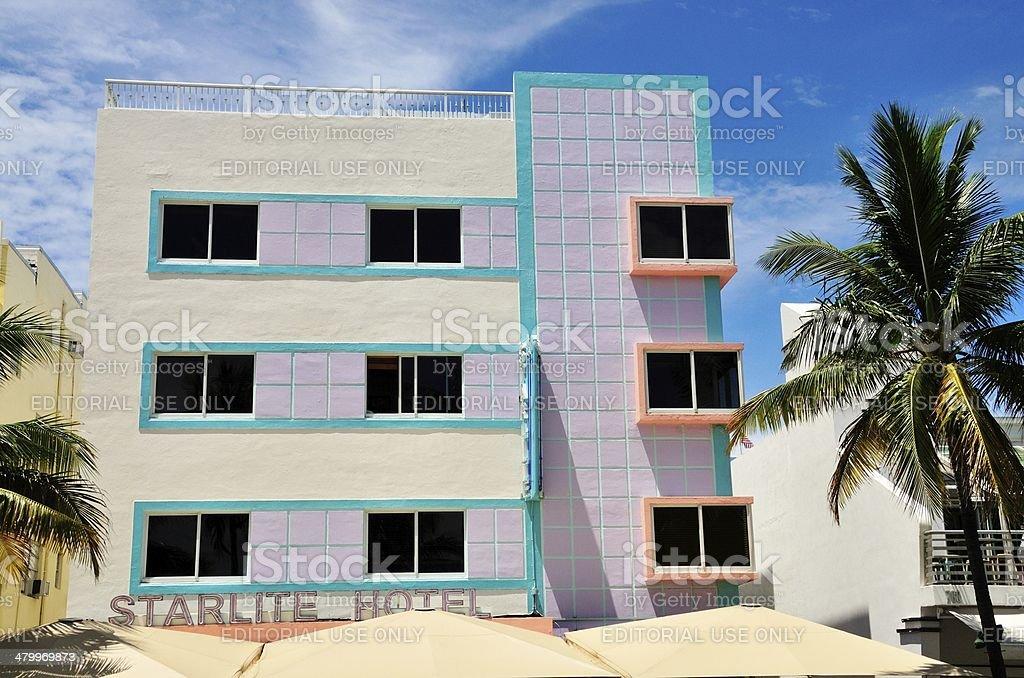 Tropical Architecture at Starlite Hotel stock photo
