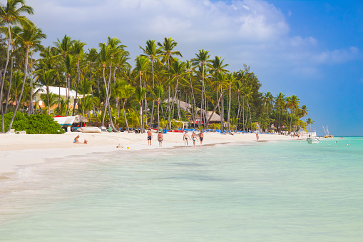 Tropical beach Bavaro